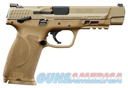 "Smith & Wesson 11537 M&P 9 M2.0 9mm Luger Double 5"" 17+1 Flat Dark Earth Interchangeable Backstrap  Guns > Pistols > S Misc Pistols"