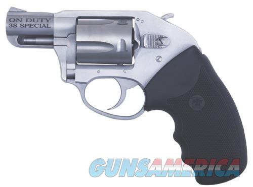 Charter Arms CHARTER ON DUTY 38SPC ALUM 2 RUBBER GRIPS / 5-SHOT  Guns > Pistols > Charter Arms Revolvers