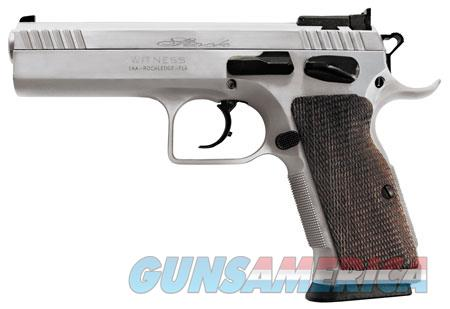 "EAA 600615 Witness Elite Stock 2 10mm Auto Single/Double 4.50"" 14+1 Walnut Grip Chrome Slide  Guns > Pistols > E Misc Pistols"