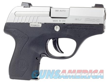 "Beretta USA JMP8D25 Pico   380 ACP 2.70"" 6+1 Black Stainless Steel Black Polymer Grip  Guns > Pistols > Beretta Pistols > Polymer Frame"