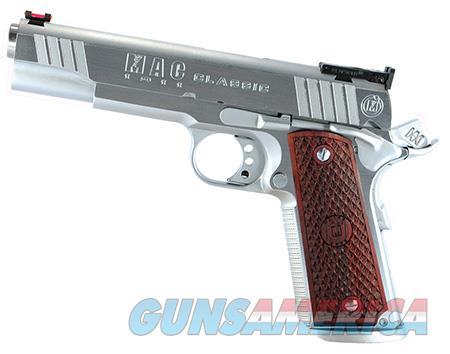 "MAC M19CL45C 1911  45 ACP Single 5"" 8+1 Hardwood w/MAC Logo Grip Hard Chrome Slide  Guns > Pistols > Desert Eagle/IMI Pistols > Other"