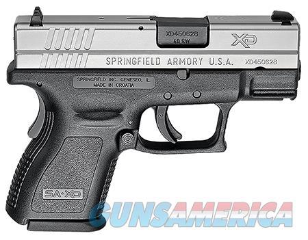 "Springfield Armory XD9822 XD Sub-Compact *CA Compliant* 40 S&W Double 3"" 9+1 Black Polymer Grip  Guns > Pistols > Springfield Armory Pistols > XD (eXtreme Duty)"