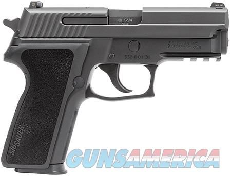 "Sig Sauer E29R40BSS P229 Compact 40 S&W Single/Double 3.90"" 12+1 Black 1-Piece Ergo Grip Black  Guns > Pistols > Sig - Sauer/Sigarms Pistols > P229"