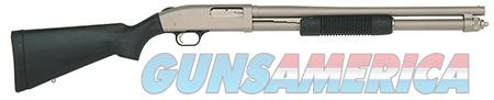"Mossberg 50299 590 Special Purpose Mariner Silver Marinecote Pump 12 Gauge 20"" 3"" 8+1 Black Fixed  Guns > Shotguns > Mossberg Shotguns > Pump > Sporting"