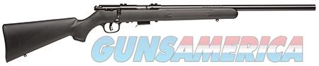 """Savage 96700 93R17 FV Bolt 17 HMR 21"""" 5+1 Black Fixed Synthetic Stock Blued Steel Receiver  Guns > Rifles > Savage Rifles > Accutrigger Models > Sporting"""