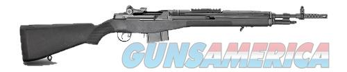Springfield Armory M1A SCOUT SQUAD 18 308 BLACK BLUE BARREL / BLACK SYNTHETIC  Guns > Rifles > S Misc Rifles