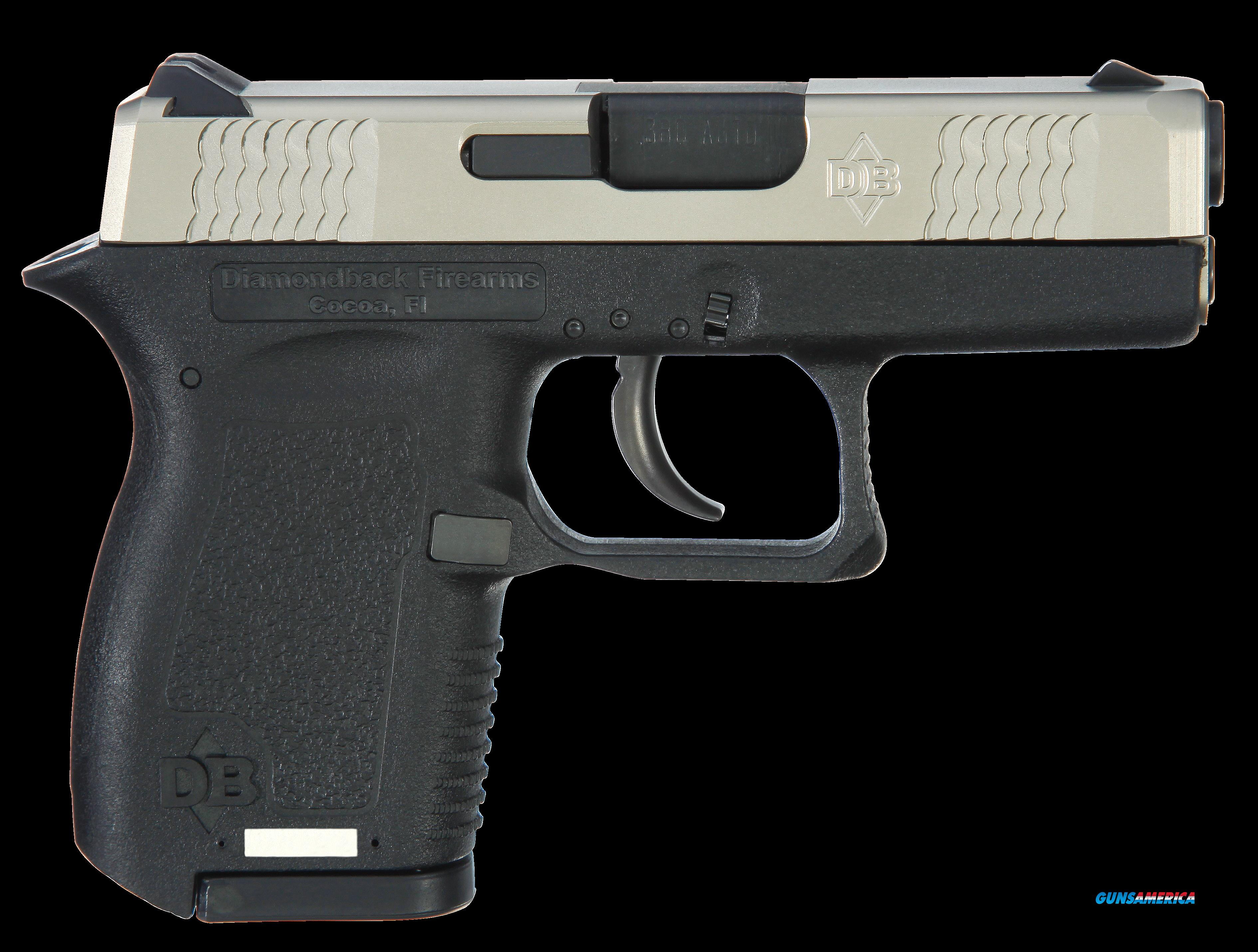 Diamondback DB380EXNS DB380 Micro-Compact with Night Sights Double 380 Automatic Colt Pistol (ACP)  Guns > Pistols > Diamondback Pistols