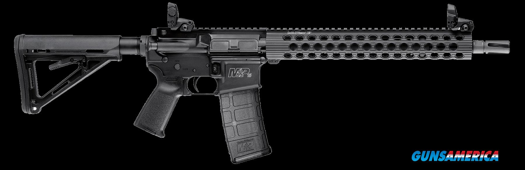 "Smith & Wesson 811024 M&P15 Carbine TS Semi-Automatic 223 Remington/5.56 NATO 16"" 30+1 Magpul MOE  Guns > Rifles > S Misc Rifles"