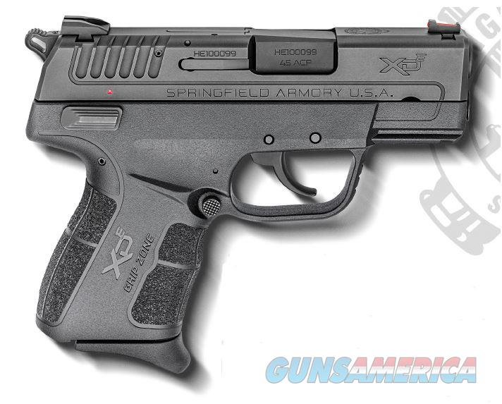 Springfield Armory XD-E 45ACP 3.3 7+1 EDC PKG EVERY DAY CARRY PACKAGE  Guns > Pistols > S Misc Pistols