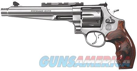 "Smith & Wesson 170181 629 Performance Center 44 Rem Mag 6 Round 7.50"" Stainless Wood Grip  Guns > Pistols > Smith & Wesson Revolvers > Full Frame Revolver"