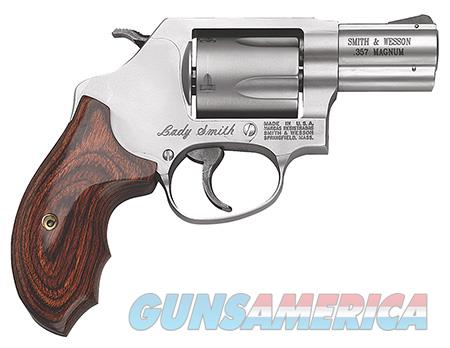 "Smith & Wesson 162414 60 Ladysmith  357 Mag 2.10"" 5 Round Stainless Wood Grip  Guns > Pistols > Smith & Wesson Revolvers > Pocket Pistols"