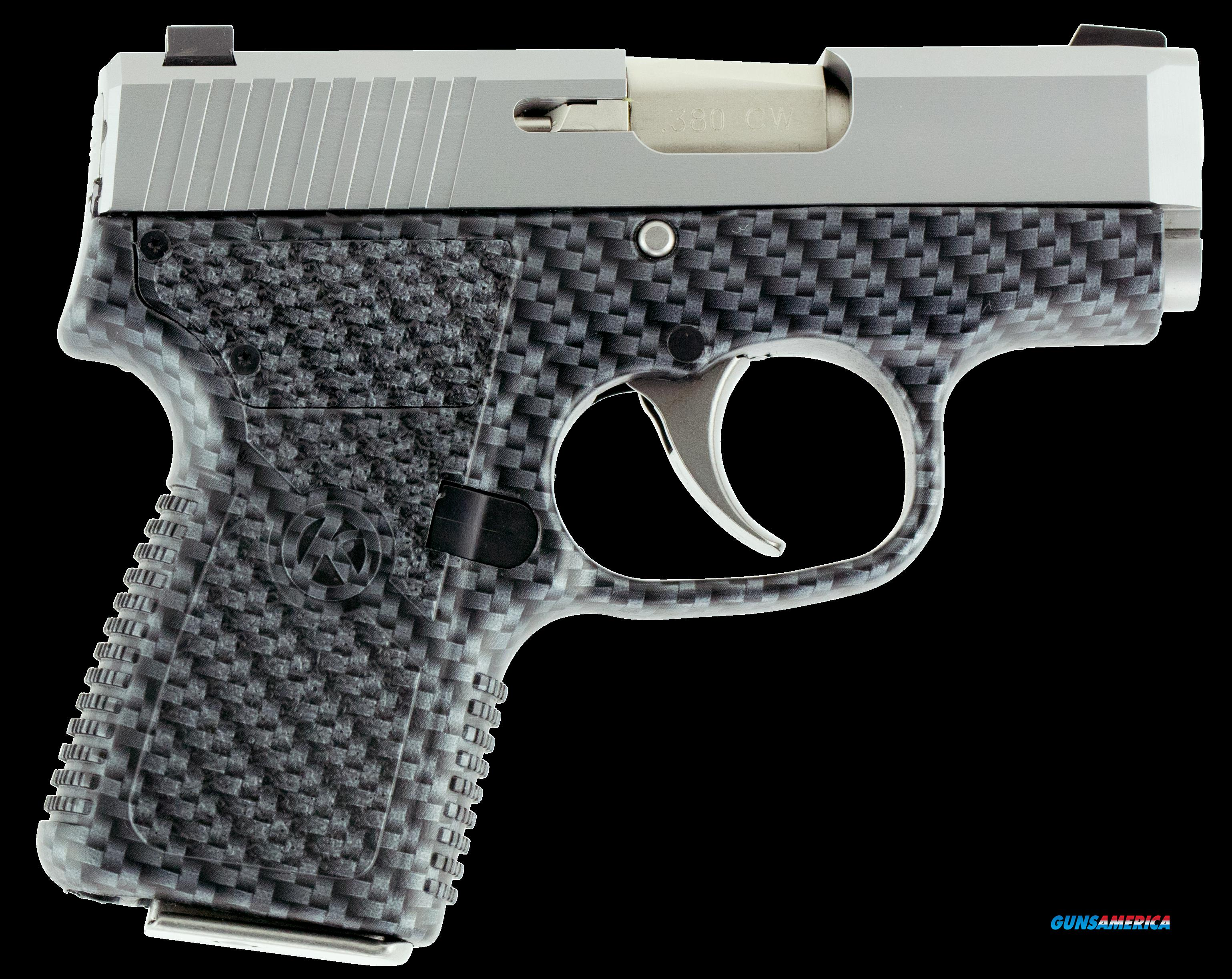 "Kahr Arms CW3833BCF CW380 Double 380 ACP 2.58"" 6+1 Black Polymer Grip Stainless Steel  Guns > Pistols > K Misc Pistols"