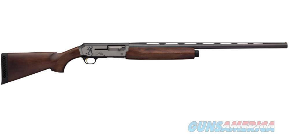 "Browning 011413604 Silver Hunter Semi-Automatic 20 Gauge 28"" 3"" Turkish Walnut Stk Black/Silver  Guns > Shotguns > B Misc Shotguns"