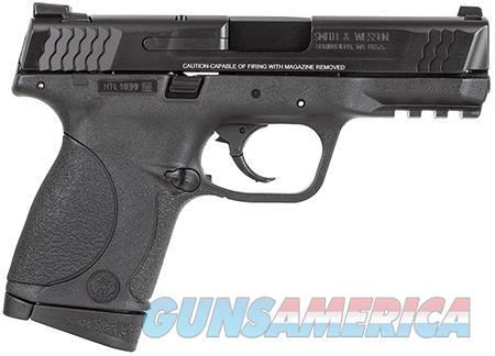 "Smith & Wesson 109308 M&P 45 Compact 45 ACP Double 4"" 8+1 Black Interchangeable Backstrap Grip Black  Guns > Pistols > Smith & Wesson Pistols - Autos > Polymer Frame"