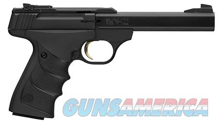 """Browning 051497490 Buck Mark Standard 22 LR 5.50"""" 10+1 Black Aluminum Alloy Black Ultragrip RX  Guns > Pistols > Browning Pistols > Buckmark"""