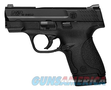 "Smith & Wesson 10036 M&P 40 Shield *MA Compliant* 40 S&W Double 3.1"" 6+1/7+1 Black Polymer  Guns > Pistols > Smith & Wesson Pistols - Autos > Shield"
