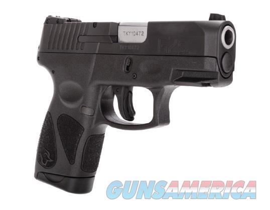 "Taurus 1G2S931 G2S Black 9mm Luger Single 3.25"" 7+1 Black Polymer Grip/Frame Black Carbon Steel  Guns > Pistols > Taurus Pistols > Semi Auto Pistols > Polymer Frame"