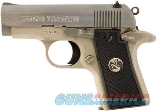 Colt MUSTANG 380ACP SS 2.75 6+1   Guns > Pistols > Colt Automatic Pistols (.25, .32, & .380 cal)