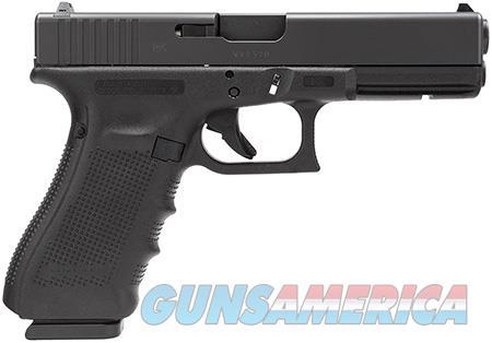 """Glock PG2250201 G22 Gen 4 40 S&W Double 4.48"""" 10+1 Black Interchangeable Backstrap Grip Black Slide  Guns > Pistols > Glock Pistols > 22"""