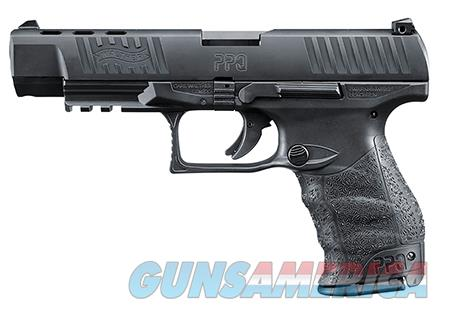 """Walther Arms 2796105 PPQ  40 S&W Double 5"""" 10+1 Black Polymer Grip/Frame Grip Black Tenifer Slide  Guns > Pistols > Walther Pistols > Post WWII > P99/PPQ"""