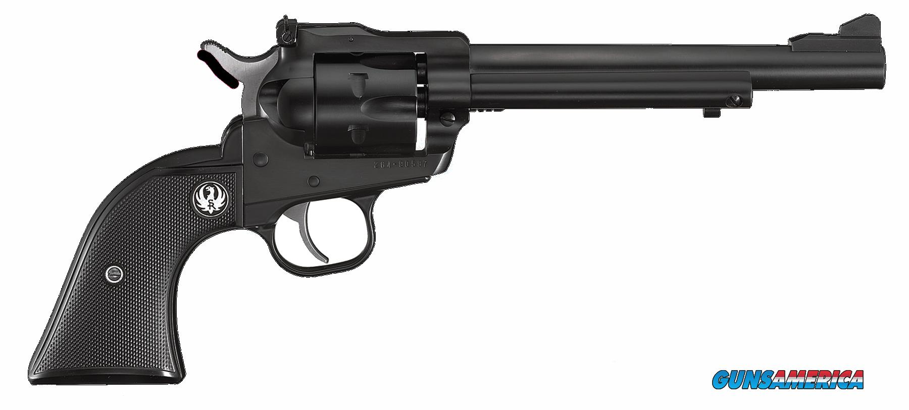 "Ruger 0622 Single-Six  Single 22 Long Rifle 6.5"" 6 Black Rubber Blued  Guns > Pistols > Ruger Single Action Revolvers > Single Six Type"
