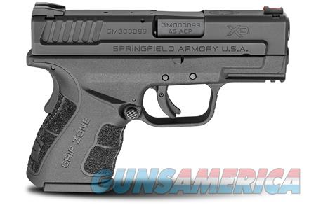 "Springfield Armory XDG9845BHC XD Mod.2 Sub-Compact 45 ACP Double 3.3"" 9+1/13+1 Black Polymer  Guns > Pistols > Springfield Armory Pistols > XD-Mod.2"