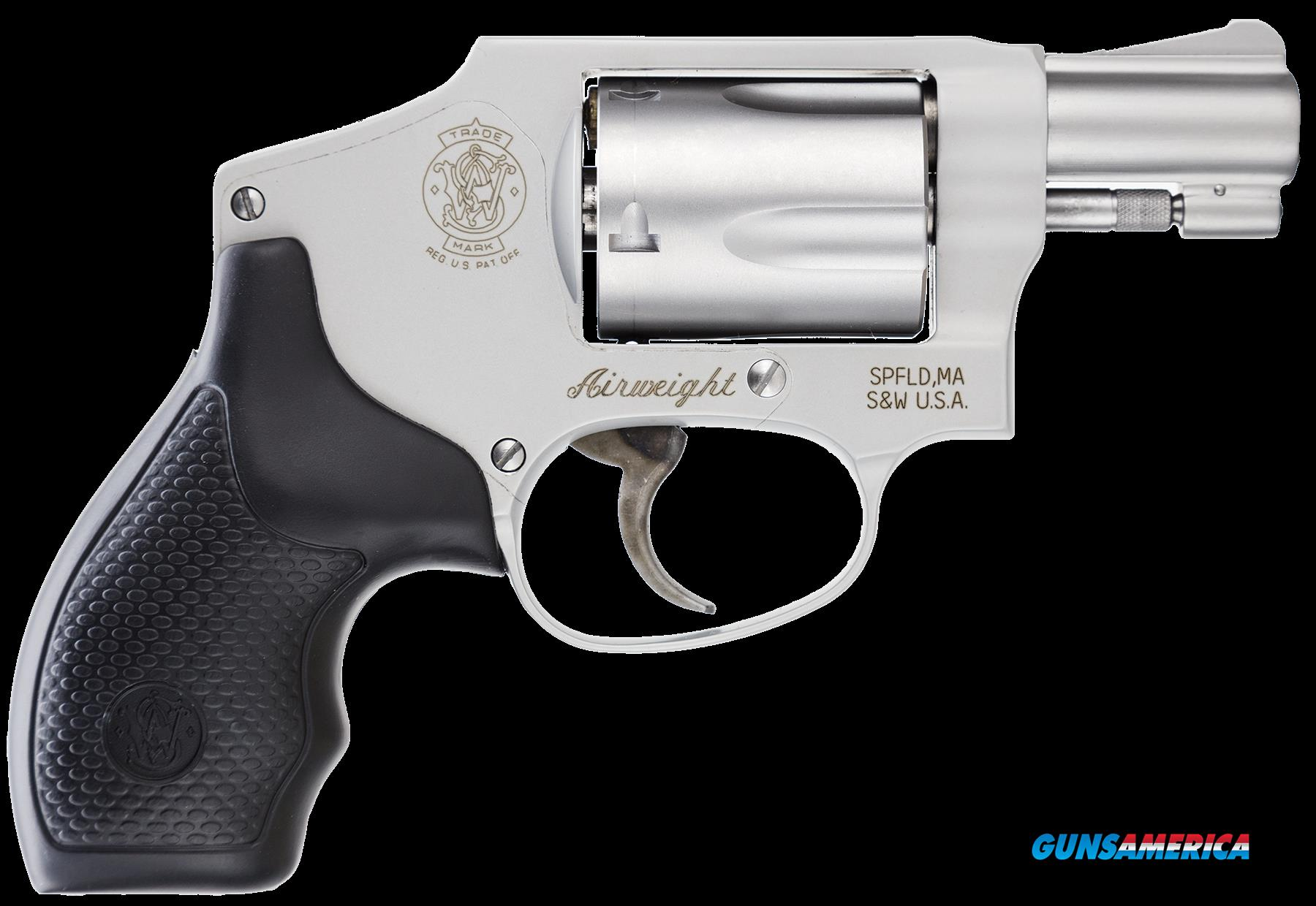 "Smith & Wesson 103810 642 Airweight No Internal Lock Double 38 Special 1.875"" 5 Black Synthetic  Guns > Pistols > S Misc Pistols"