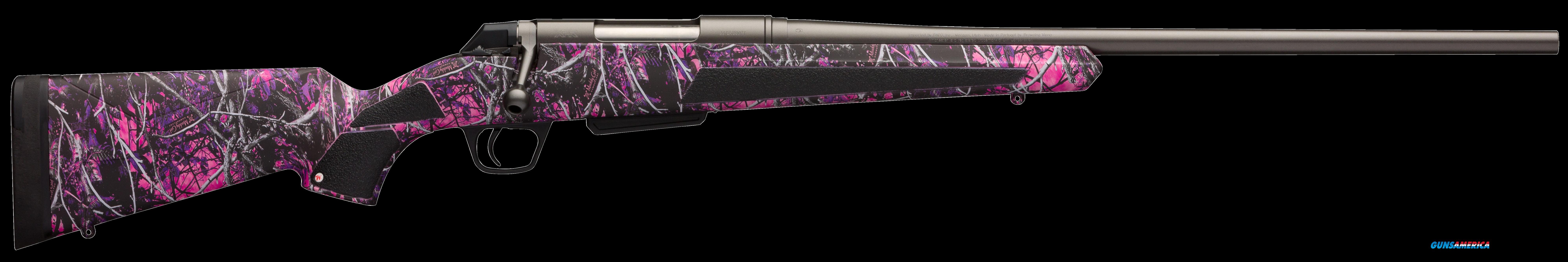 "Winchester Guns 535712218 XPR Compact Bolt 7mm-08 Rem 20"" 3+1 Synthetic Muddy Girl Stk Blued  Guns > Rifles > W Misc Rifles"