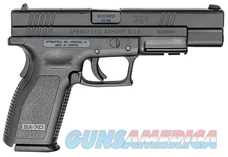 "Springfield Armory XD9402 XD Service *CA Compliant* 40 S&W Double 5"" 10+1 Black Polymer Grip/Frame  Guns > Pistols > Springfield Armory Pistols > XD (eXtreme Duty)"