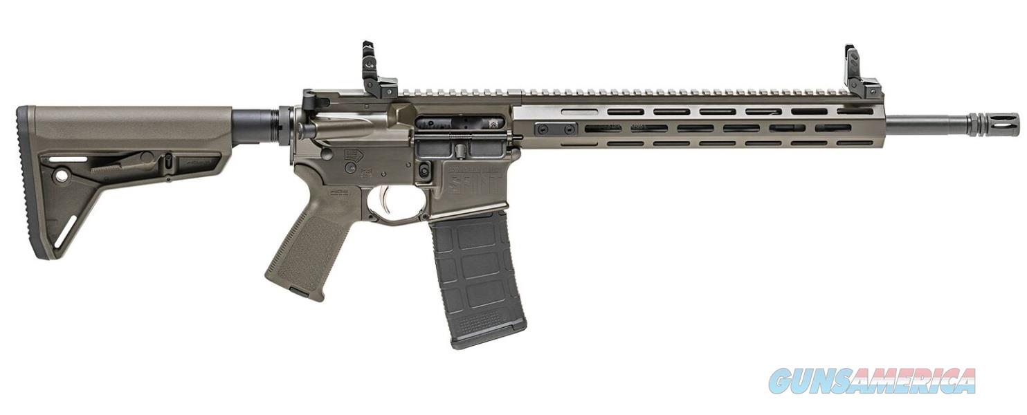"Springfield Armory ST916556ODGF Saint   Semi-Automatic 223 Remington/5.56 NATO 16"" 30+1 Magpul MOE  Guns > Rifles > S Misc Rifles"