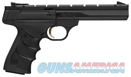 "Browning 051501490 Buck Mark Contour 22 LR 5.50"" 10+1 Black Aluminum Alloy Black Ultragrip RX  Guns > Pistols > Browning Pistols > Buckmark"