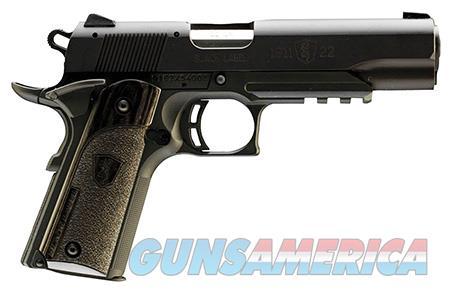 "Browning 051816490 1911-22 Black Label w/Rail  22 LR 4.25"" 10+1 Laminate Black  Guns > Pistols > Browning Pistols"