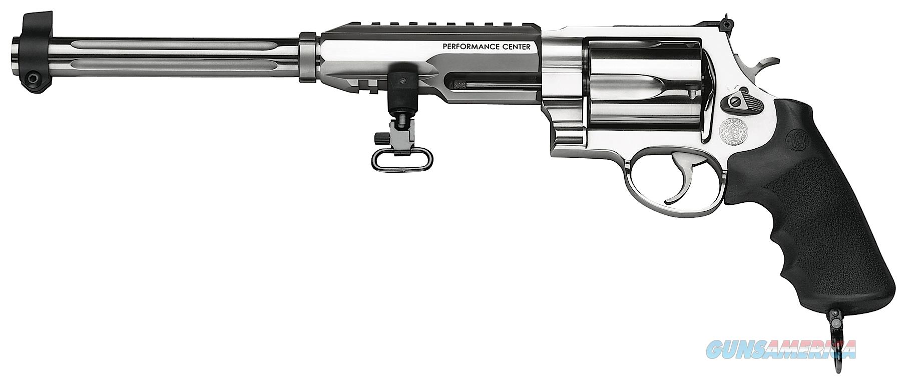 "Smith & Wesson 170280 460 Performance Center XVR Single/Double 460 Smith & Wesson Magnum 12"" 5 Black  Guns > Pistols > S Misc Pistols"