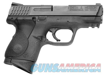 """Smith & Wesson 220074 M&P 9 Compact Crimson Trace Lasergrip 9mm Luger 3.50"""" 12+1 Black Stainless  Guns > Pistols > Smith & Wesson Pistols - Autos > Polymer Frame"""