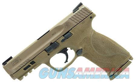 "Smith & Wesson 11767 M&P 9 M2.0  9mm Luger Double 4.25"" 17+1 NMS Flat Dark Earth Interchangeable  Guns > Pistols > S Misc Pistols"