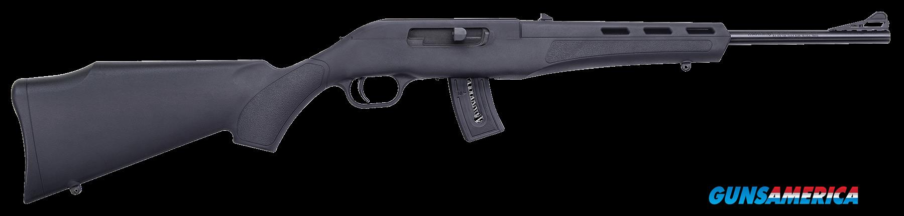 "Mossberg 37312 Blaze Semi-Automatic 22 LR 16.5"" 10+1 Synthetic Black Stk Blued  Guns > Rifles > Mossberg Rifles"