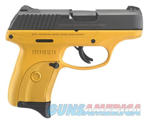Ruger LC9S 9MM BL/YELLOW 7+1 AS SFTY 3269 | CONTRACTOR YELLOW FRAME  Guns > Pistols > R Misc Pistols