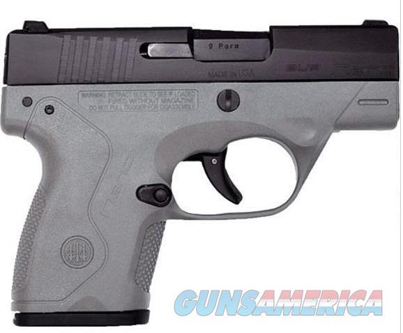 Beretta NANO 9MM 6+1 BLK/GREY 3.07   Guns > Pistols > B Misc Pistols