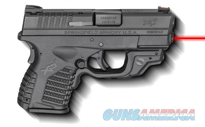 Springfield Armory XD-S 9MM BLACK 3.3 8+1 CT LSR CRIMSON TRACE LASERGUARD  Guns > Pistols > Springfield Armory Pistols > XD-S