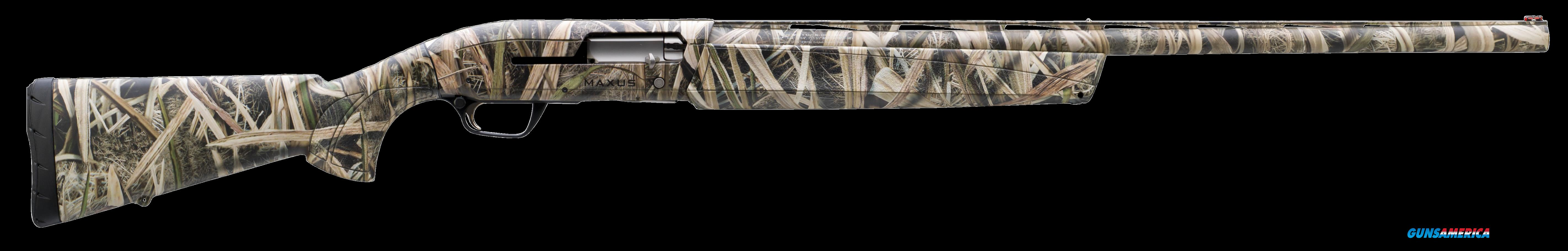 "Browning 011645205 Maxus Semi-Automatic 12 Gauge 26"" 3.5"" Mossy Oak Shadow Grass Blades Synthetic  Guns > Shotguns > B Misc Shotguns"