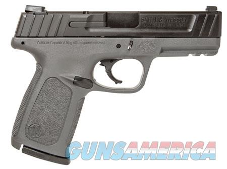 """Smith & Wesson 11995 SD 9  9mm Luger Double 4"""" 16+1 Gray Polymer Grip/Frame Black Armornite  Guns > Pistols > S Misc Pistols"""