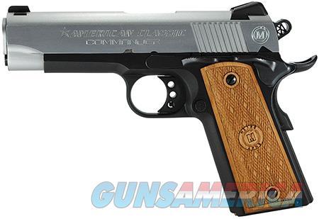 "American Classic ACC45DT 1911 Commander 45 ACP Single 4.25"" 8+1 Hardwood Grip Hard Chrome Slide  Guns > Pistols > Desert Eagle/IMI Pistols > Other"