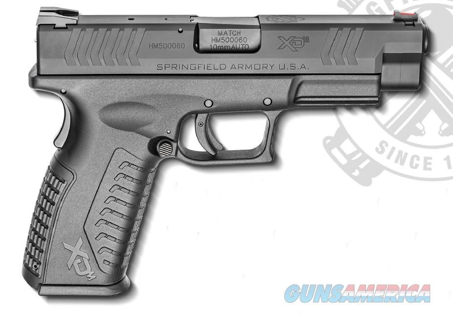 "Springfield Armory XDM94510BHCE XD(M) Full Size  10mm Double 4.5"" 15+1 Black Interchangeable  Guns > Pistols > S Misc Pistols"