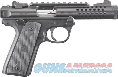 """Ruger 43906 Mark IV 22/45 Lite 22 LR 4.40"""" 10+1 Black Hardcoat Anodized Black Polymer  Guns > Pistols > R Misc Pistols"""