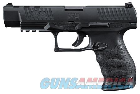 """Walther Arms 2796104 PPQ M2 40 S&W Double 5"""" 11+1 Black Polymer Grip/Frame Grip Black Tenifer Slide  Guns > Pistols > Walther Pistols > Post WWII > P99/PPQ"""