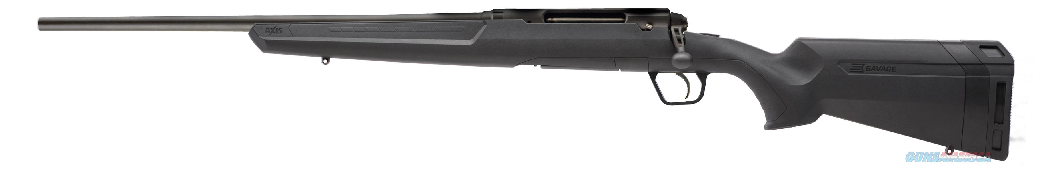 "Savage 57243 Axis Compact LH Bolt 7mm-08 Remington 20"" 4+1 Synthetic Black Stk Blued  Guns > Rifles > S Misc Rifles"
