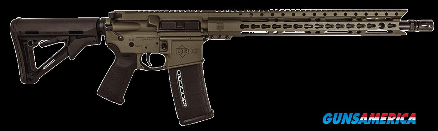 "Diamondback DB15EBB DB15 223 Keymod Semi-Automatic 223 Remington/5.56 NATO 16"" 30+1 Magpul CTR Black  Guns > Rifles > D Misc Rifles"