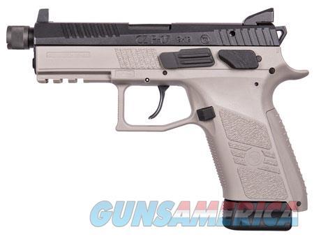 "CZ 91288 P-07 Gray 9mm Luger Single/Double 4.50"" 15+1 Gray Polymer Grip/Frame Grip Black Slide  Guns > Pistols > CZ Pistols"