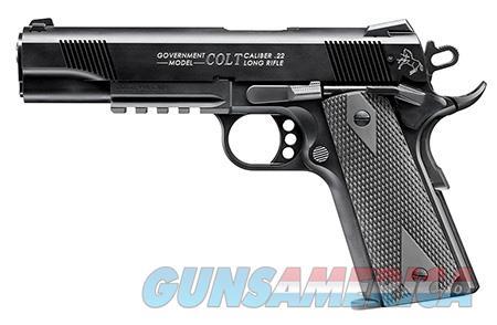 "Walther Arms 517030810 1911 Colt Government A1  22 Long Rifle (LR) Single 5"" 10+1 Black Polymer Grip  Guns > Pistols > Colt Automatic Pistols (1911 & Var)"