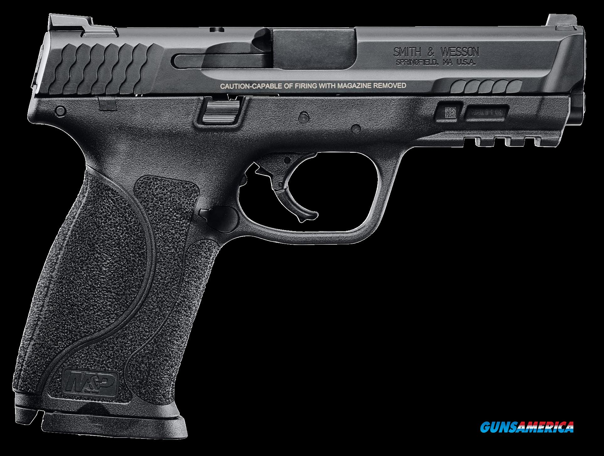 "Smith & Wesson 11522 M&P 40 M2.0 Double 40 Smith & Wesson (S&W) 4.25"" 15+1 Black Interchangeable  Guns > Pistols > S Misc Pistols"